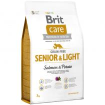 Brit Care Grain-free Senior Salmon Potato 3kg