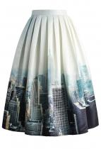 CHICWISH Midi New York Skyline