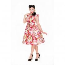 LINDY BOP RETRO Hetty Red Floral