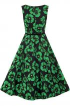 LADY VINTAGE RETRO Green Poppy