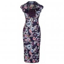 LINDY BOP RETRO Wynona Plum