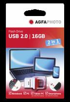 AgfaPhoto 2in1 Poko 16GB