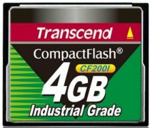 Transcend 4GB INDUSTRIAL CF 200X