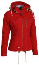 WOOX Drizzle Jacket Ladies' Red