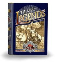 Basilur Tea Book Legends Earl Grey 100g