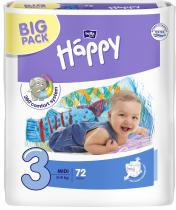 BELLA HAPPY Midi Big Pack (5-9kg) 72 ks