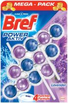 BREF Power Aktiv Lavender WC blok (3x50 g)