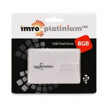 IMRO PENDRIVE PLATINIUM USB CREDIT CARD FLASH DISK 8GB