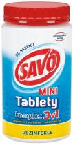 Savo Mini tablety komplex 3v1 800 g