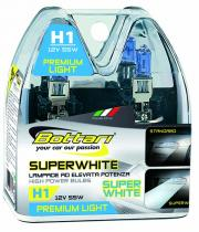 Bottari SUPER WHITE H1 55W 2ks