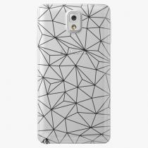 Samsung - Abstract Triangles 03 - black - Galaxy Note 3