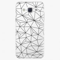 Samsung - Abstract Triangles 03 - black - Galaxy J5