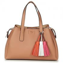 Guess TRUDY GIRLFRIEND SATCHEL Hnědá 361f19026d4