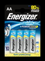Energizer AA/LR6 Maximum, 4 ks (blistr)