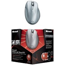 Wireless Laser Mouse 6000 1.0 Mac/ Win USB Moonlite silver