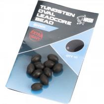 Nash Tungsten Oval Leadcore Beads 8 mm
