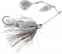 Savage Gear Da'Bush Spinnerbait White Silver 32 g