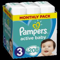 Pampers Active Baby 3 Midi
