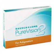 Bausch&Lomb PureVision 2 HD for Astigmatism (3 čočky)