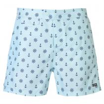 Pierre Cardin Pierre Cardin Mix Swim Shorts Mens, Sky Anchor, M