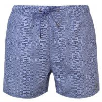 Pierre Cardin Pierre Cardin Geo Swim Shorts Mens, Blue/White, M