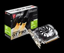 MSI MSI GeForce GT 730, 2048MB DDR3, DVI-D, HDMI, D-Sub