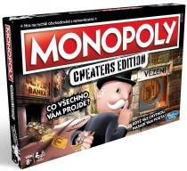 Hasbro Monopoly: Cheaters edition CZ