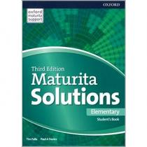 Falla Tim, Davies Paul A.: Maturita Solutions 3rd Edition Elementary Student´s Book Czech Edition
