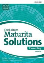 Oxford University Press Maturita Solutions 3rd Edition Elementary Workbook Czech Edition (9780194561877)