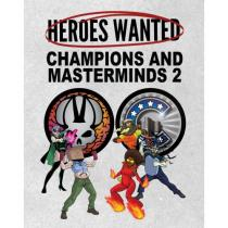 Action Phase Games Heroes Wanted: Champions and Masterminds 2