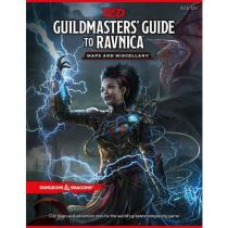Wizards of the Coast D&D: Guildmasters Guide to Ravnica Maps and Miscellany