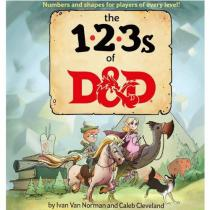 Wizards of the Coast Dungeons & Dragons: 123s of D&D