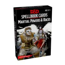 Gale Force Nine Dungeons and Dragons: Spellbook Cards Martial Powers and Races (61 karet)