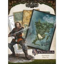 Ulisses Spiele GmbH The Dark Eye Aventuria Map Set