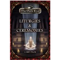 Ulisses Spiele GmbH The Dark Eye: Liturgies and Ceremonies Card Pack