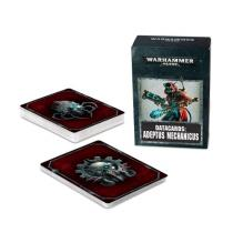 Games Workshop Warhammer 40000: Datacards Adeptus Mechanicus