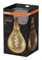 Osram LED Filament-twist Vintage 1906 ClasA160 230V 5W E27 A GOLD 2000K