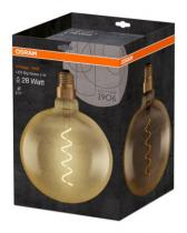 Osram LED Filament-twist Vintage 1906 Globe 200 230V 5W E27 A GOLD 2000K