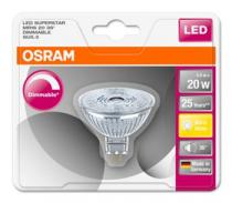 Osram LED SUPERSTAR MR16 36° 230V 3,4W 827 GU5.3