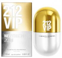 Carolina Herrera 212 VIP, 20ml