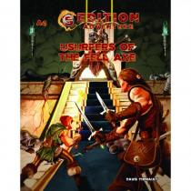 Troll Lord Games 5th Edition Adventures: A4 - Usurpers of the Fell Axe