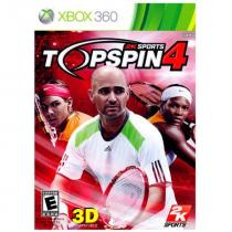 2K Top Spin 4 (Xbox 360)