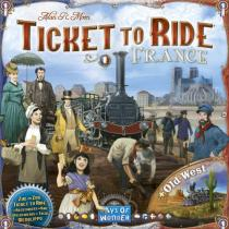 Days of Wonder Ticket to Ride Map Collection 6 - France & Old West