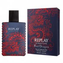 REPLAY Signature red dragon Man EdT 100ml