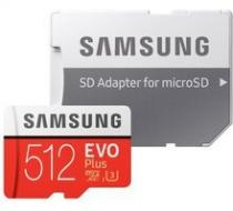 Samsung EVO Plus Micro SDXC 512 GB UHS-I U3 + adaptér - MB-MC512HA/EU