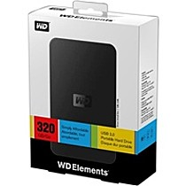 "Western Digital 320GB Ext. 2.5"" USB2.0"
