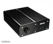 AKASA A-NUC22-M1B Pascal MC, Fanless Ali IP65 case for Intel NUC (Board Specific) with 2m USB, Network, Display Port and