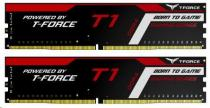 TEAMGROUP DIMM DDR4 8GB 2400MHz, CL15, (KIT 2x4GB), T-FORCE T1 Gaming Memory