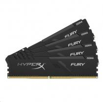 KINGSTON DIMM DDR4 128GB 2666MHz CL16 (Kit of 4) FURY Black