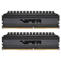 PATRIOT 16GB DDR4-4000MHz Viper 4 Blackout CL19, kit 2x8GB